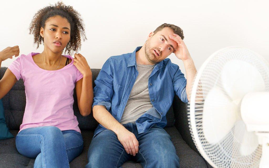 keeping cool when AC is broken